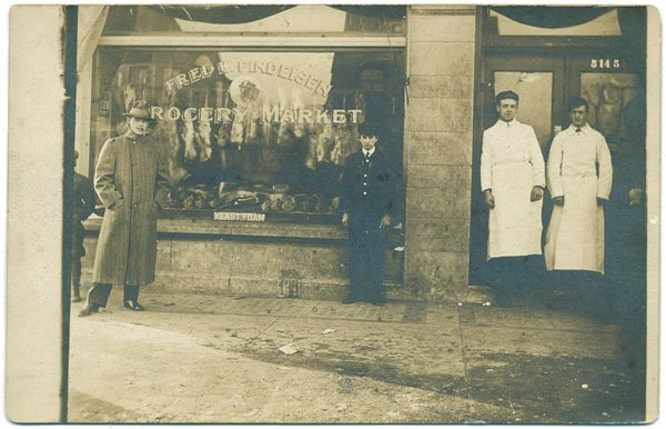 RPPC - Fred W. Findeisen Grocery Market, Unknown Location