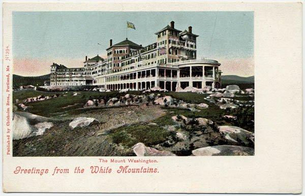 The Mount Washington, White Mountains c1900s