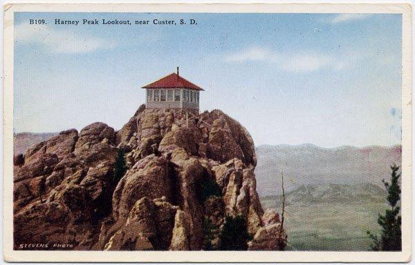 Harney Peak Lookout, near Custer, SD