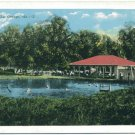 City Park, Swimming Area, La Grange, GA Postcard