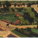 Bowman's Auto Courts, Tallahassee, FL Linen Postcard