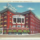 The Ottaray Hotel, Greenville, SC Postcard