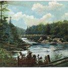 Bridge over Ammonoosuc near Lower Falls, NH Postcard