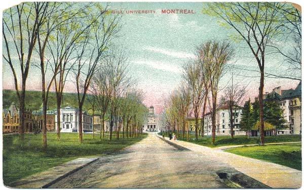 McGill University, Montreal, c1908 Postcard