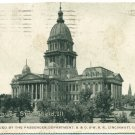 State House, Springfield, IL c1909 Postcard