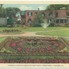 Floral Clock at Westmount Park, Montreal Postcard