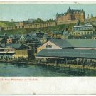 Chateau Frontenac et Citadelle, Quebec c1906 Postcard