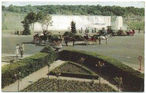 Oakes Garadens at Niagara Falls, Ontario Postcard