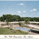Alamo Motel, Silver Springs, FL c1960s Chrome Postcard