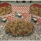 Claxton Fruit Cake, Chrome Advertising Postcard