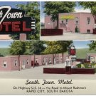 South Town Motel, Rapid City, SD Postcard