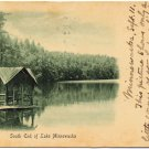 South End of Lake Minnewaska, NY c1906 Postcard