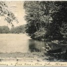 In Paradise Bay, Lake George, NY c1906 Postcard