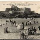 Emerald Coast, Saint-Malo, France c1910s Postcard