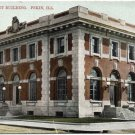 Government Building, Pekin, IL Postcard