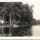 Devereaux Pine Camps, North Anson, ME 1938 RPPC