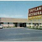 Skyland Restaurant / Lounge, Perry, FL c1950s Postcard