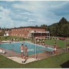 Stewart's Motel - Pool View, Corbin, KY Postcard