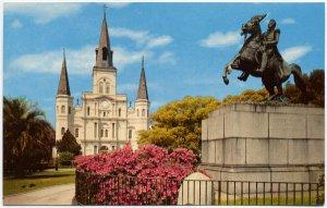 St. Louis Cathedral, New Orleans, LA Postcard