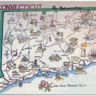 Connecticut, The Nutmeg State c1962 Postcard