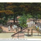 Children's Playground, Pen-Mar Park, PA Postcard