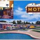 Augusta Terrace Motel, Clearwater, SC Postcard
