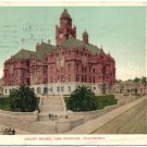 Court House, Los Angeles, CA c1905 Postcard