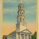 St. Michael's Episcopal Church, Charleston, SC Postcard