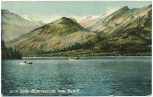 Lake Minnewanka, near Banff, Canada Postcard