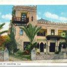 Zorayda Club, St. Augustine, FL Postcard