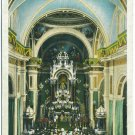 La Merced Church, Habana, Cuba c1932 Postcard
