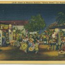 "Street of Mexican Bazaars, ""Olvera Street"", Los Angeles"