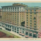 Mount Windsor Royal Hotel, Montreal, Canada Postcard