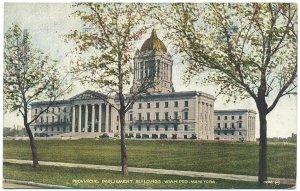 Provincial Parliament Buildings, Winnipeg Postcard