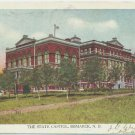 The State Capitol, Bismarck, ND c1907 Postcard