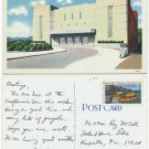 Municipal Auditorium, Asheville, NC c1960s Postcard