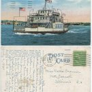 Ferry Boat Agoming, Sault St. Marie, c1940 Postcard