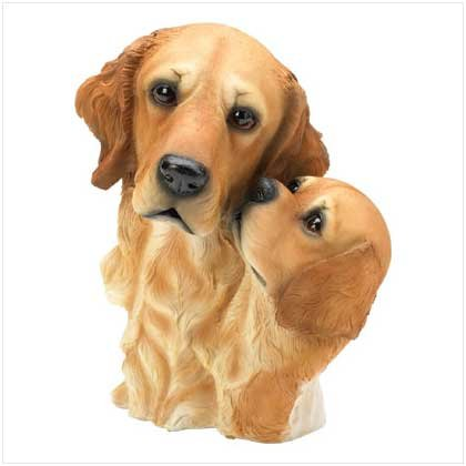 DOG BUST-GOLDEN RETRIEVER