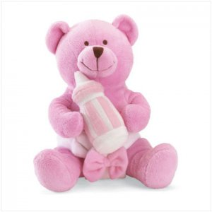 It's a Girl Message Bear