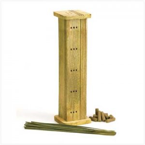 Natural Spa Wooden Incense Set