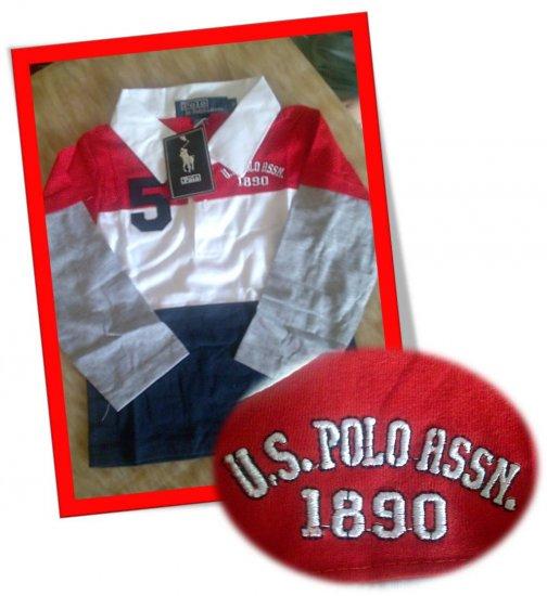 POLO Stripe Long Sleeve T-shirt