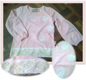 NEXT : Pink Lacey Top