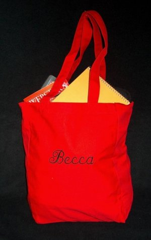 red book tote bag