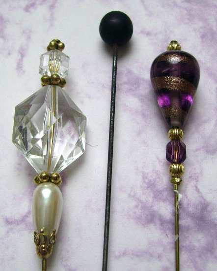 Vintage Hatpin Lot Old & New Great Deal!