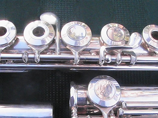 MIYAZAWA FLUTE MS 95SRH OPEN HOLE HIGH END B FOOT A:442 SCALE FREE SHIPPING TO THE LOWER FORTY EIGHT