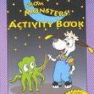 NEW I'm Safe from MONSTERS ACTIVITY BOOK Wendy Gordon FUN Picture Children COLORING & STICKERS