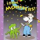 I'm Safe! from Monsters FUN Educational Children Picture BOOK by Wendy Gordon, Paul Gordon