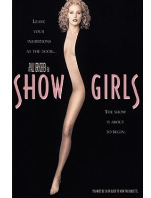SHOWGIRLS Movie VHS SHOW GIRLS Elizabeth Berkley, Gina Gershon, Kyle MacLachlan, Gina Ravera