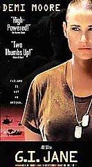 MINT G.I. Jane GI Movie VHS Demi Moore, Viggo Mortensen Director: Ridley Scott