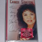 FREE USA Shipping NEW HERE'S A BLESSING Candi Staton CASSETTE TAPE Songs Music AUDIOCASSETTE
